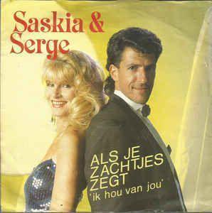 Coverafbeelding Als Je Zachtjes Zegt 'ik Hou Van Jou' - Saskia & Serge