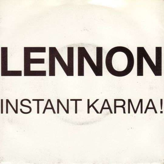 Coverafbeelding Lennon - Instant Karma!