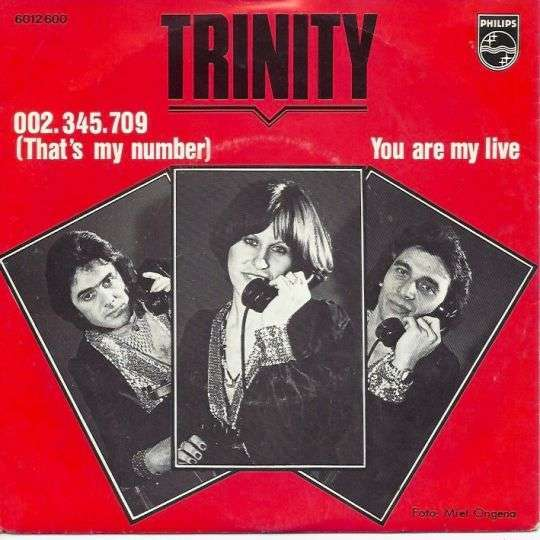 Coverafbeelding Trinity - 002.345.709 (That's My Number)