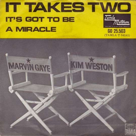 Coverafbeelding It Takes Two - Marvin Gaye & Kim Weston