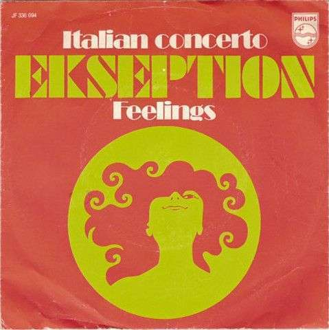 Coverafbeelding Italian Concerto - Ekseption