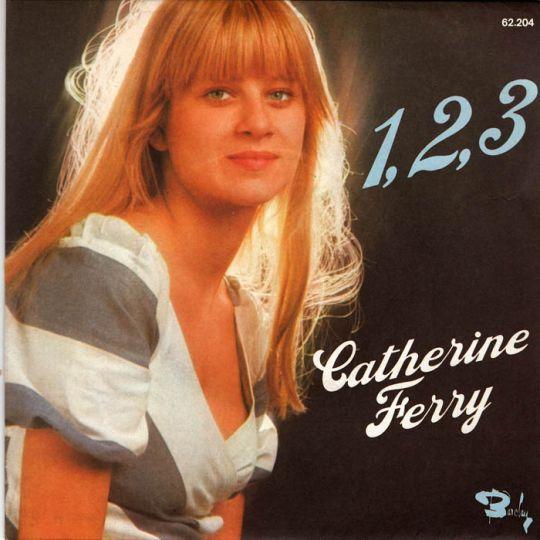 Coverafbeelding Catherine Ferry - 1, 2, 3