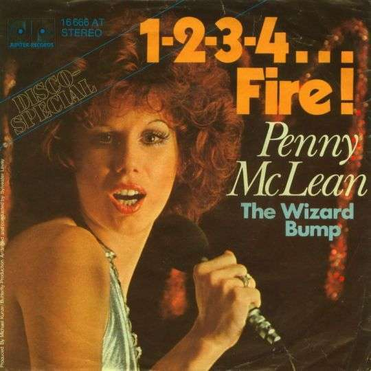 Coverafbeelding Penny McLean - 1-2-3-4... Fire!
