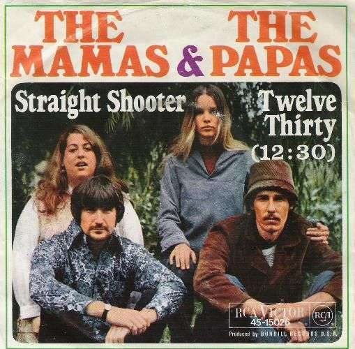 Coverafbeelding Twelve Thirty (12:30) - The Mamas & The Papas
