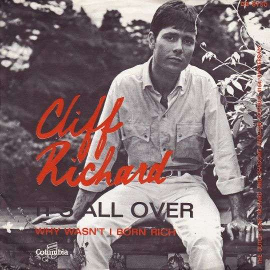 Coverafbeelding Cliff Richard - It's All Over