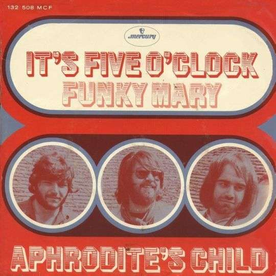 Coverafbeelding It's Five O'clock - Aphrodite's Child