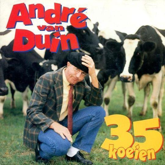 Coverafbeelding 35 Koeien - Andr� Van Duin