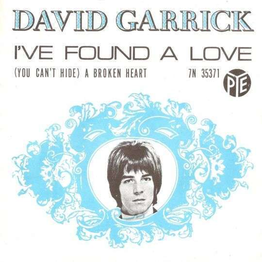 Coverafbeelding I've Found A Love - David Garrick
