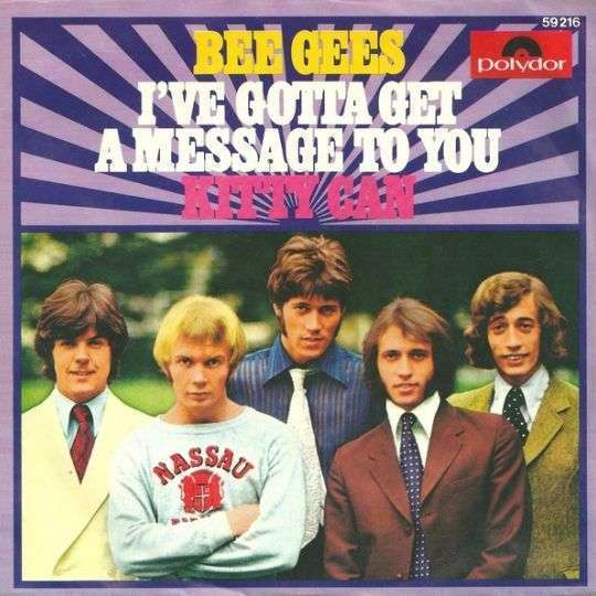 Coverafbeelding I've Gotta Get A Message To You - Bee Gees