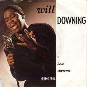 Coverafbeelding Will Downing - A Love Supreme