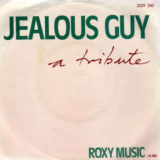 Coverafbeelding Jealous Guy - A Tribute - Roxy Music
