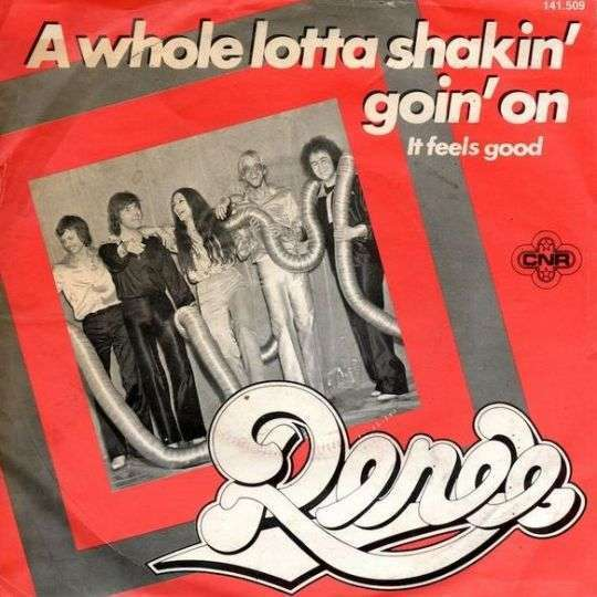 Coverafbeelding A Whole Lotta Shakin' Goin' On - Renée