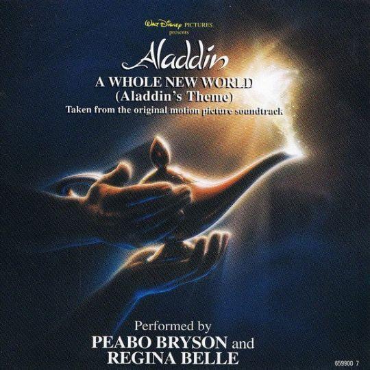 Coverafbeelding A Whole New World (Aladdin's Theme) - Peabo Bryson And Regina Belle