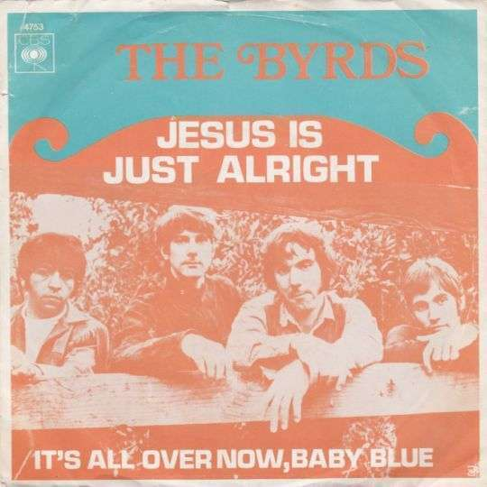 Coverafbeelding Jesus Is Just Alright - The Byrds