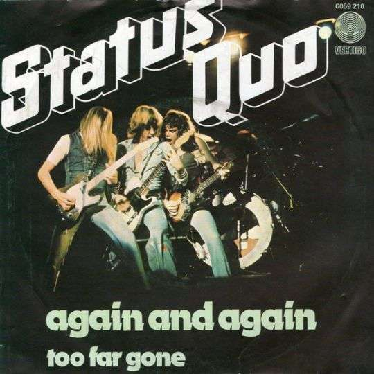 Coverafbeelding Again And Again - Status Quo