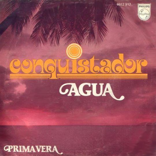 Coverafbeelding Agua - Conquistador
