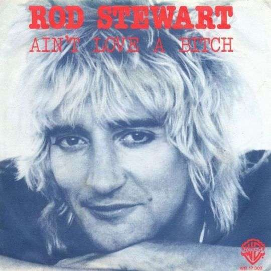 Coverafbeelding Ain't Love A Bitch - Rod Stewart