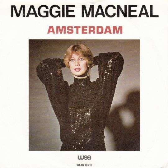 Coverafbeelding Amsterdam - Maggie Macneal