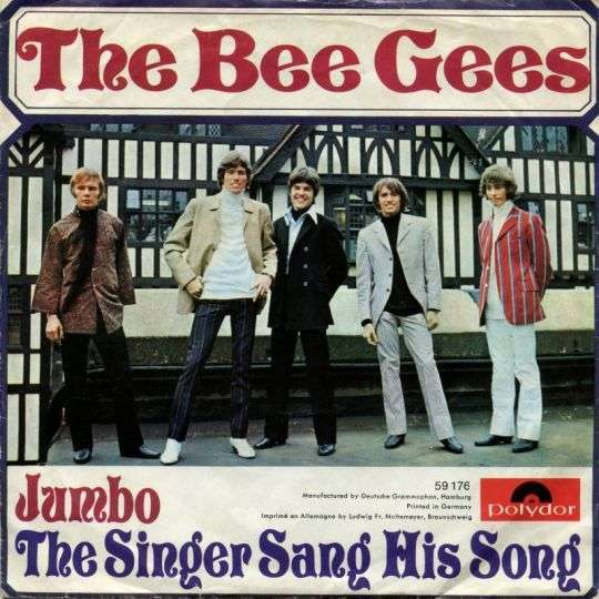 Coverafbeelding Jumbo/ The Singer Sang His Song - The Bee Gees