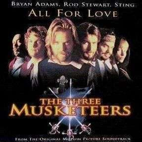 Coverafbeelding All For Love - Bryan Adams, Rod Stewart, Sting