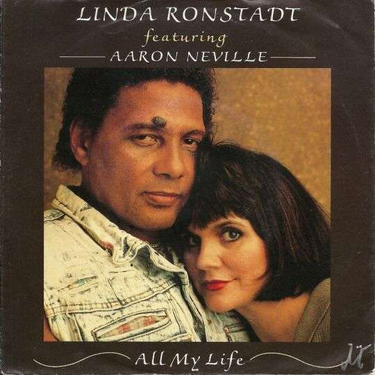 Coverafbeelding Linda Ronstadt featuring Aaron Neville - All My Life