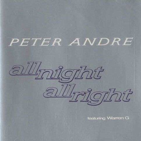 Coverafbeelding Peter Andre featuring Warren G - All Night All Right
