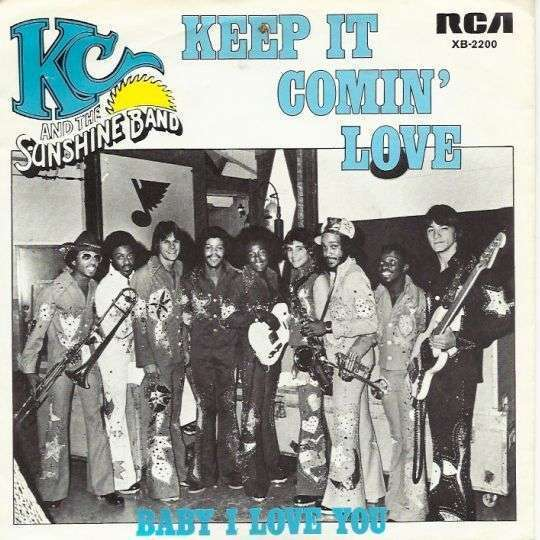 Coverafbeelding Keep It Comin' Love - Kc And The Sunshine Band