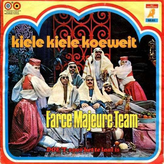 Coverafbeelding Kiele Kiele Koeweit - Farce Majeure Team