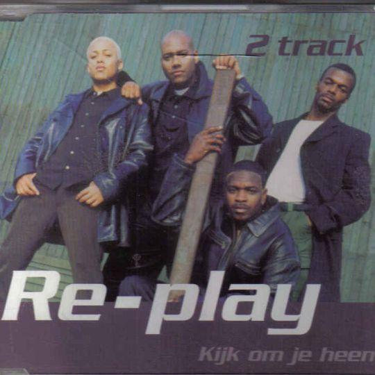 Coverafbeelding Kijk Om Je Heen - Re-play