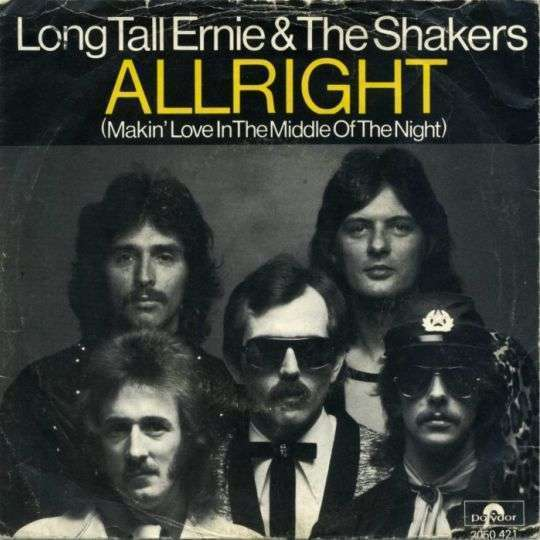 Coverafbeelding Allright (Makin' Love In The Middle Of The Night) - Long Tall Ernie & The Shakers