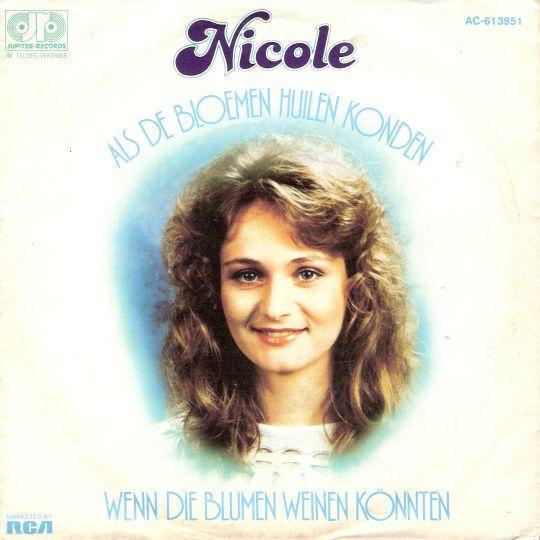 Coverafbeelding Nicole - Als De Bloemen Huilen Konden
