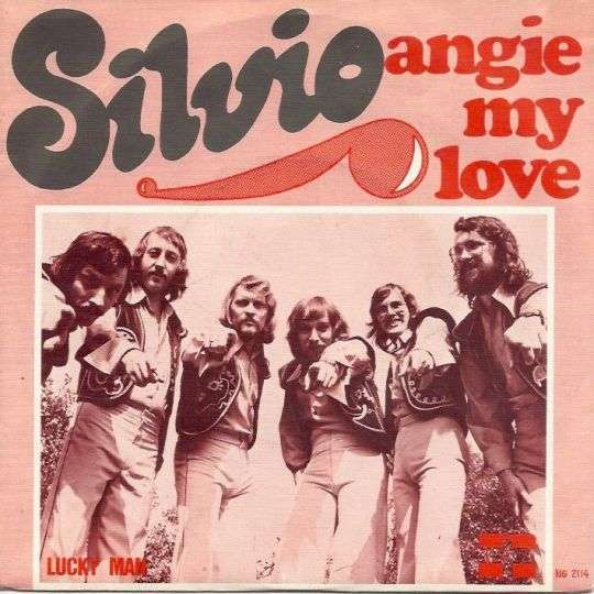 Coverafbeelding Angie My Love - Silvio