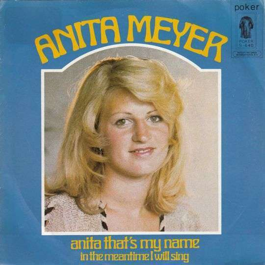 Coverafbeelding Anita Meyer - Anita That's My Name