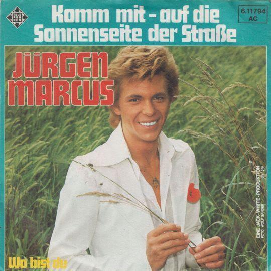 Coverafbeelding Komm Mit - Auf Die Sonnenseite Der Stra�e - J�rgen Marcus