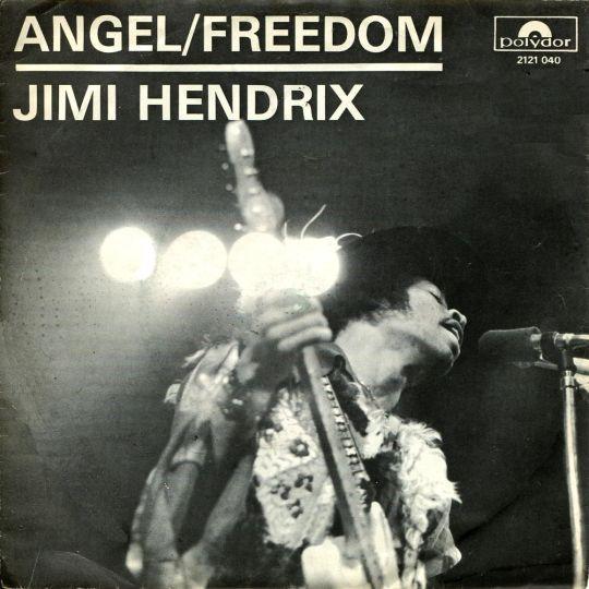 Coverafbeelding Angel/ Freedom - Jimi Hendrix