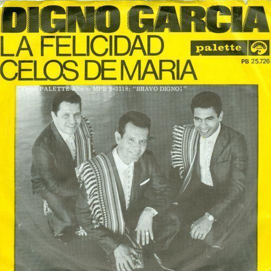Coverafbeelding La Felicidad / Pa Wil Niet In Bad (La Felicidad) / Felicidad, De Roddel Van De Stad - Digno Garcia / Johnny & Rijk / Eddie Becker