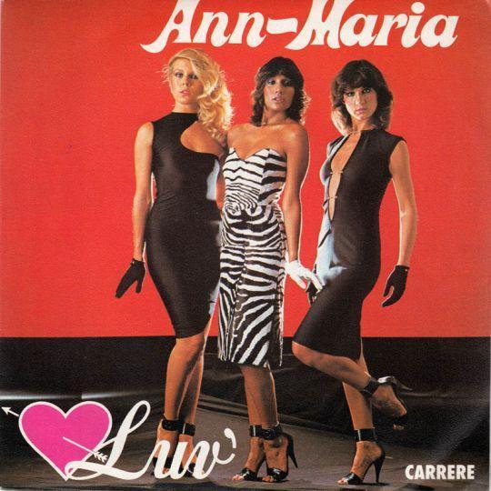 Coverafbeelding Luv' - Ann-Maria
