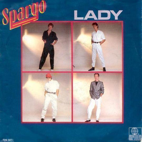 Coverafbeelding Lady - Spargo