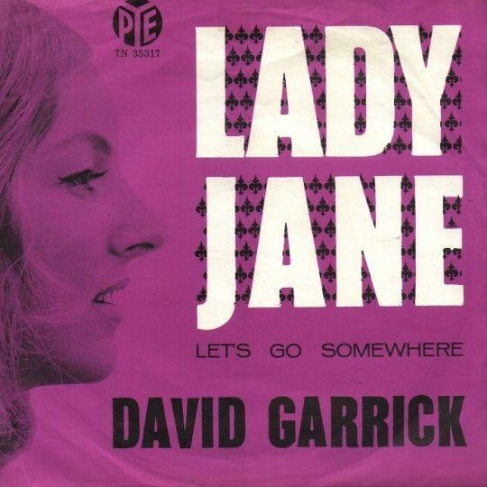 Coverafbeelding David Garrick / The Rolling Stones - Lady Jane