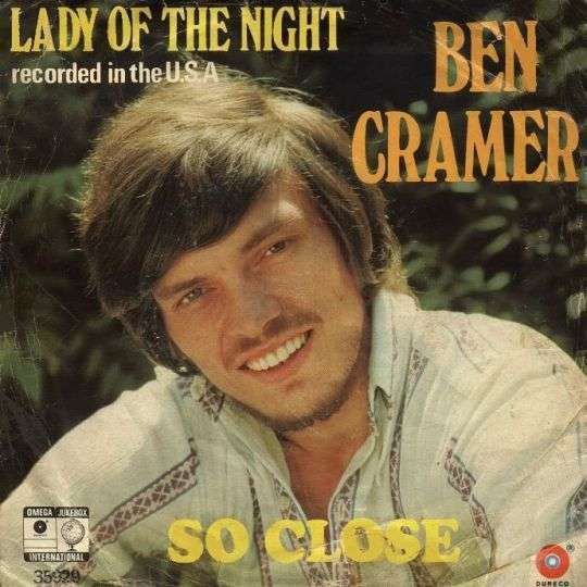 Coverafbeelding Lady Of The Night - Ben Cramer