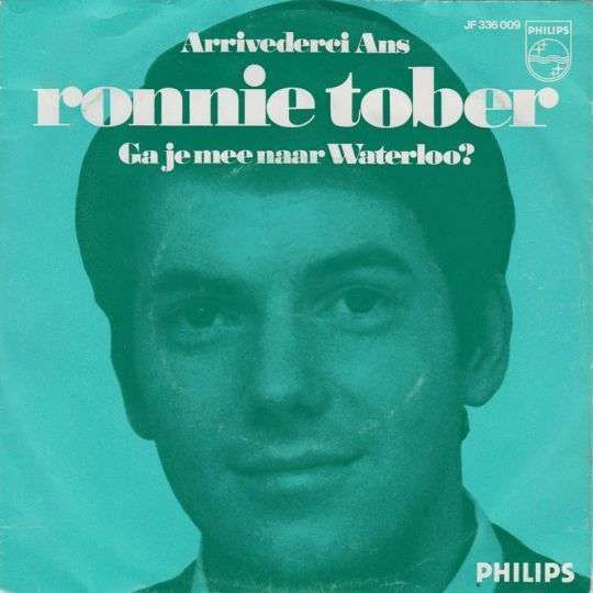 Coverafbeelding Arrivederci Ans - Ronnie Tober