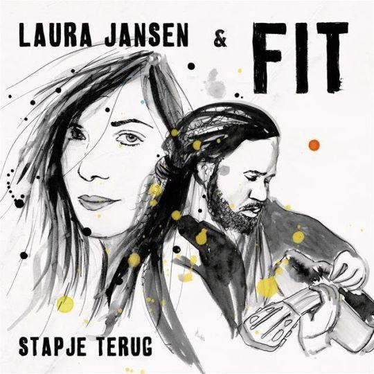 Coverafbeelding Stapje Terug - Laura Jansen & Fit