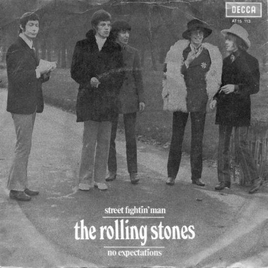 Coverafbeelding Street Fightin' Man ((1968)) / Street Fighting Man [33⅓ Maxistereo] ((1971)) - The Rolling Stones