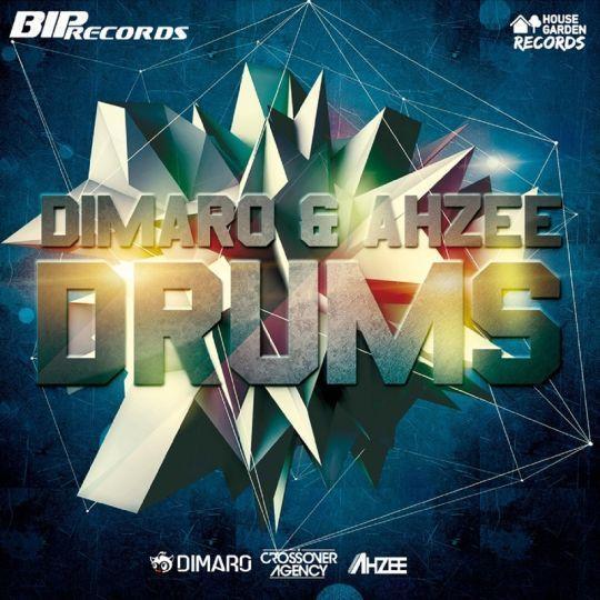 Coverafbeelding diMaro & Ahzee - Drums