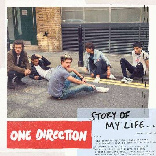 Coverafbeelding Story Of My Life - One Direction