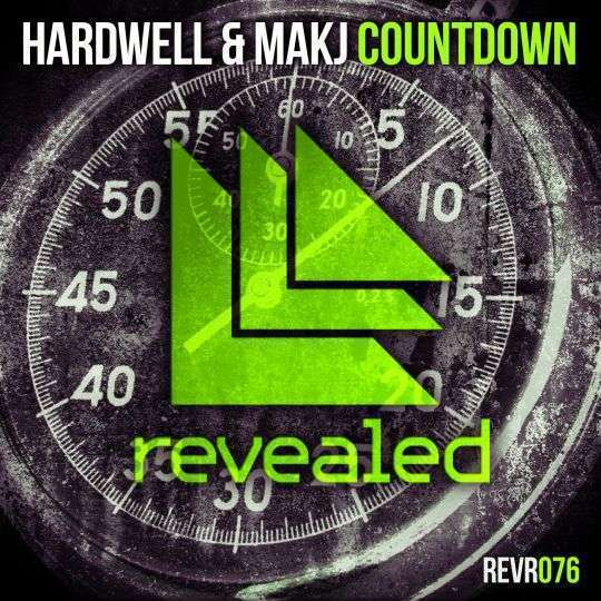 Coverafbeelding Countdown - Hardwell & Makj