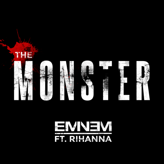 Coverafbeelding The Monster - Eminem Ft. Rihanna