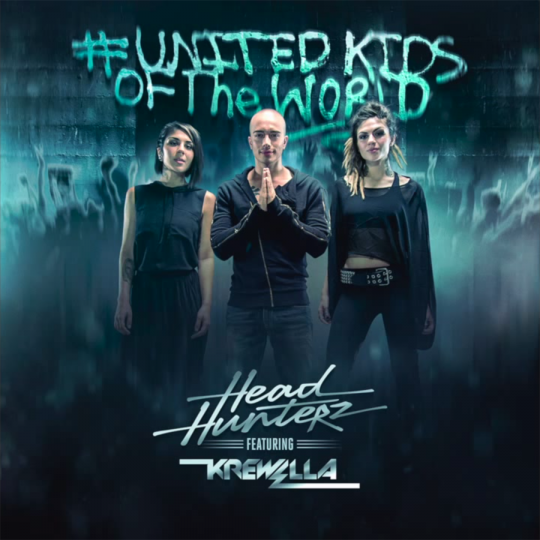 Coverafbeelding headhunterz featuring krewella - united kids of the world