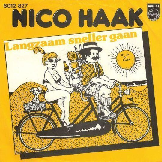 Coverafbeelding Langzaam Sneller Gaan - Nico Haak