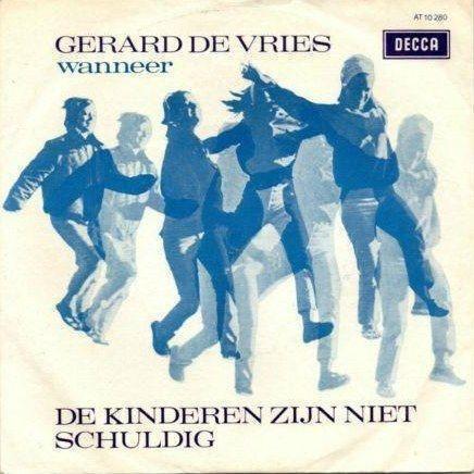Coverafbeelding De Kinderen Zijn Niet Schuldig - Gerard De Vries
